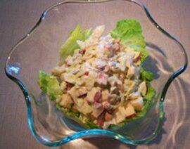 Fruit Salad with Yogurt Dressing